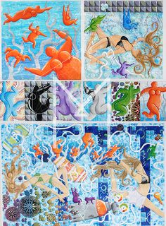 Year 11 NCEA Painting Board by Kathryn Drew, via Behance Boards, Behance, Kids Rugs, Painting, Home Decor, Art, Planks, Art Background, Decoration Home