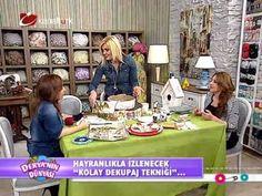 """Derya Baykal-Deryanın Dünyası-""""Kolay dekupaj tekniği""""-30.04.2014"""