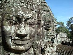 Bayone, Siem Reap, Cambodia