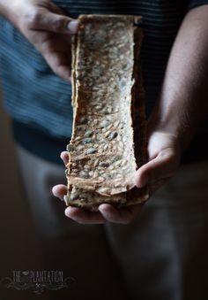 Swedish Crisp Bread - Swedish Crackers - 4 easy recipes gluten-free, vegan, healthy, yeast free The Little Plantation