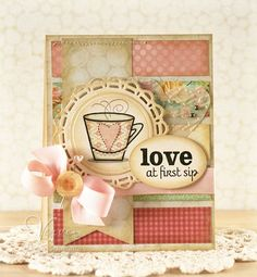 """Another gorgeous card that will truly be """"loved"""" by @Heather Dennis {Lee is right, I love it!!!}"""
