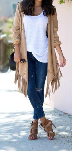 fringe jacket <3