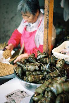 Street Food in Zhujiajiao, China