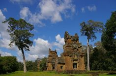mowao.pl / Podróże / Angkor Monument Valley, Mansions, House Styles, Nature, Travel, Naturaleza, Viajes, Fancy Houses, Trips