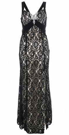 Fekete csipke alkalmi ruha (Quiz)