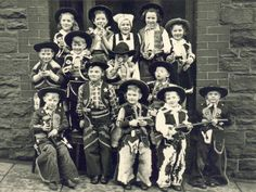 vintage children playing cowboys and indians   Roleplaying Games: Past, Present and Future