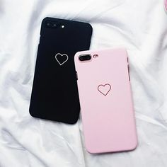 6990569640 Love Heart Painted Graphic Phone Case For iphone 5 5S 6 6S 7 8 Plus X