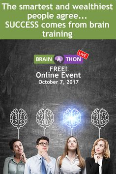 LEARN how to UPDATE your Brain & your INCOME Click the link http://www.myneurogym.com/go/?p=MBALZANI&w=LBAT2017REG