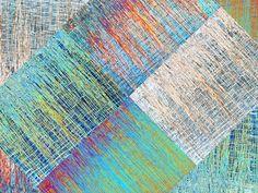 """'Stoffdesign """"Schilfgras im Wasser (4q)""""' von Rudolf Büttner bei artflakes.com als Poster oder Kunstdruck $18.71"""