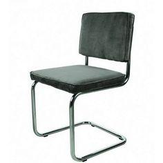 Retro stoel buisframe paars | Design meubelen en de laatste woontrends