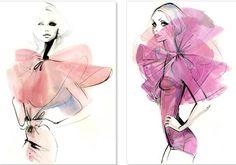 O ilustrador de moda Grant Cowan – BLCKDMNDS