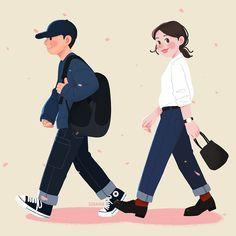 SINANA | Thiết kế phác thảo nghệ thuật Lineart, logo retro Head S, Body M, Drawing Clothes, Art Tutorials, Disney Characters, Fictional Characters, Family Guy, Disney Princess, Couples