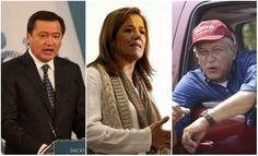 Osorio, Zavala y Obrador, aventajan para 2018