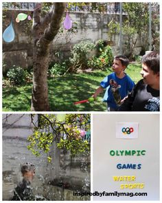 olympic games -Water sports and other challenges.