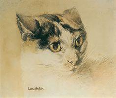 Theophile Alexandre Steinlen's cats.