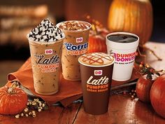 Dunkin' Donuts - Pumpkin Iced Coffee - This is number 2 on my list from their menu.