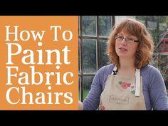 Wie man einen Stoff Stuhl Farbe
