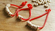 Sport these easy-to-make Cheerios bracelets now, have 'em for a snack later!