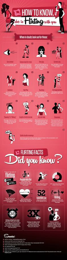 13 Signs If She Is Flirting With You