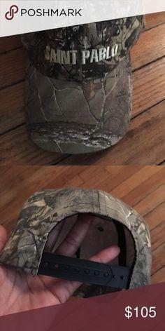 763e10d0b Kanye West Yeezy Saint Pablo Tour Camo Hat SAINT PABLO yeezy- Kanye West  Camouflage Hat