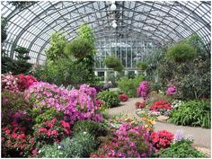 Garfield Park Conservatory - for a dose of fresh air and beauty. Not to mention a chance to marvel one of Chicago's most famous architectural landmarks. Enjoy year round!