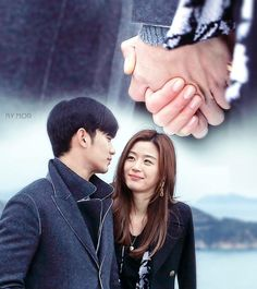 My Love From Another Star - Jun Ji-hyun as Cheon Song-yi and Kim Soo-hyun as Do Min-joon - Sweet story Jun Ji Hyun, Hyun Kim, Jang Hyuk, Moorim School, My Love From Another Star, Kim Sohyun, Passionate Couples, Learn Korean, Romance