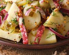 Recette de Salade de pommes de terre au cervelas