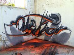 Odeith, un artista callejero de extraordinario talento, crea increíbles obras de arte de la calle que engañan a los ojos al pensar que están flotando en el aire.