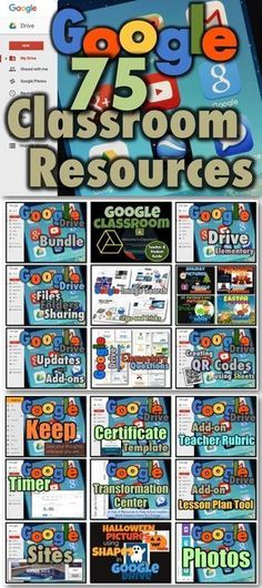 75 Google Resources for Your Classroom! {pacifickid.net}