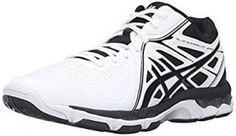 ASICS Mens GelNetburner Ballistic Mt Volleyball Shoe WhiteBlackSilver 10 M  US     Click image for more details. (It is an affiliate link and I receive  ... 50991d181d