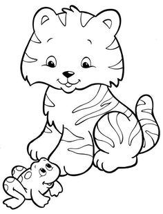 super cute animal coloring pages jungle jungle jungle - Super Cute Animal Coloring Pages