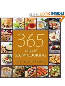 365 different slow cooker recipes!  One for each day of the year :)  Simplify your life and meal time!!