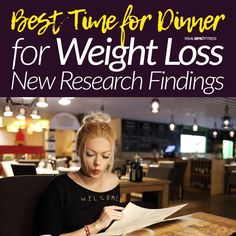 Eating dinner at the wrong time can be detrimental to weight loss. New research from the University of Surrey has found that eating your evening meal early, before 7pm, could help you lose weight faster than those who ate later in the evening. The study looked at 3 groups of people and their habits around when they ate their dinner: Early Dinner Group (which had a 6-hour window), Late Dinner Group (9 hours) and Nighttime Suppertime Group (12 hours). Best Time To Eat, 9 Hours, Wrong Time, Evening Meals, Surrey, Weight Loss Tips, How To Lose Weight Fast, University, Window