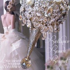 luxurious bridal bouquets   bouquets crystal wedding bouquets rhinestone bouquets crystal bouquets ...