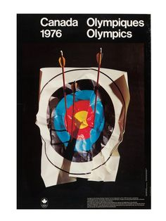 1976 Olympics  ( IOC, V Publishing / Abrams / July 20, 2012 )  Poster from Artists-Athletes Coalition for the Celebration of the 1976 Olympics series.