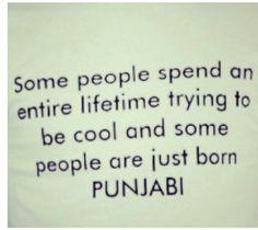 Punjabi & proud!