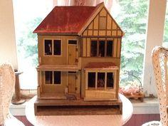 1920s Gottschalk dolls house. Nice shape and style. .....Rick Maccione-Dollhouse Builder www.dollhousemansions.com