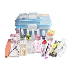 21 PCS Nail Art And Protection Kits In Box