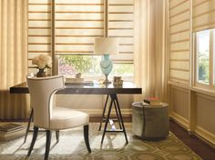 I set my Hunter Douglas motorized shades for just a peek of a view from 1:00 to 4:00 p.m. when the sun is baking.