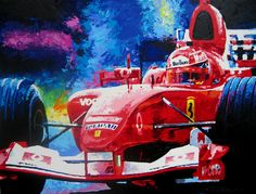 Michael Schumacher by Scott Beckley