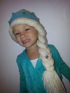Congelados de tamaño inspirado en Elsa Crochet por BabyStitchesbyKA