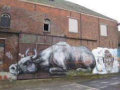 IMAGINATIVELY WEIRD ART: THE ABANDONED VILLAGE OF DOEL, It's a Bull Market