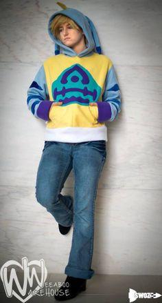 Gabumon Fleece Hoodie : Digimon Season One