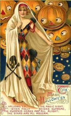 VINTAGE BLOG: Halloween Card
