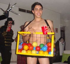 the most inappropriate halloween costumes of all time cloned ball pit hopefully he won - Cheap Costume For Halloween
