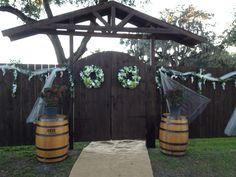 door wedding venus | Harmony Haven Event Venue