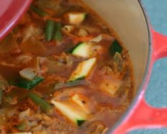 WEIGHT WATCHERS ZERO POINTS GARDEN VEGETABLE SOUP Recipe on Yummly. @yummly #recipe