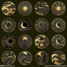 That would be nice in gold work. - That would be nice in gold work. Art And Illustration, Geometric Tatto, Gold Work, Moon Art, Art Inspo, Art Reference, Art Drawings, Tattoo Drawings, Tattoo Designs