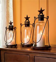 Antique Star Lanterns - useful for the Fourth of July
