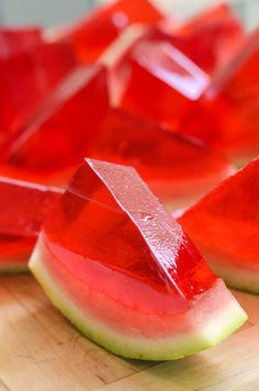 Whip up these Watermelon Jello Shots for your next party.